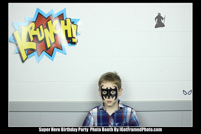 Birthday Party Photo Booth