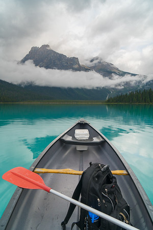 Paddling Emerald Lake