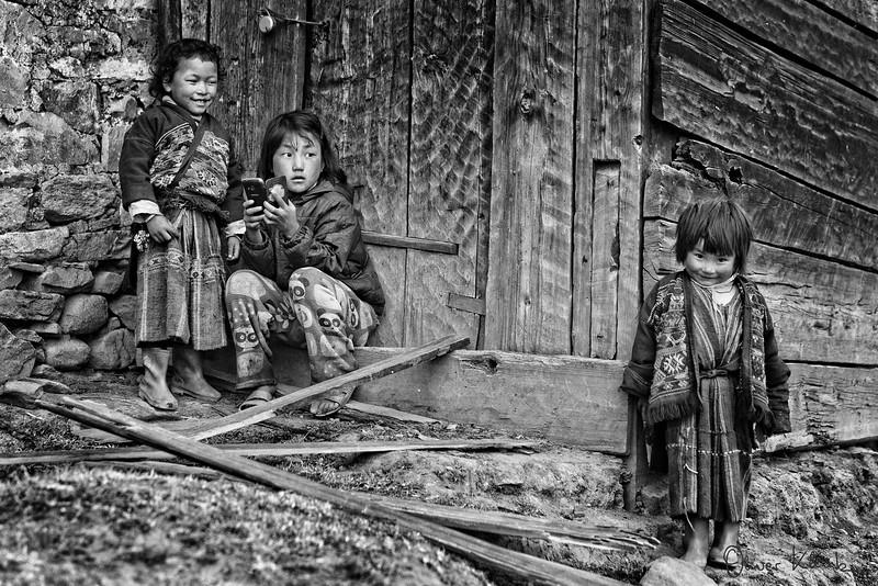 Phurba Chonzon - Preschool, Pema Dema - grade 2, Tenzin Pema - No School