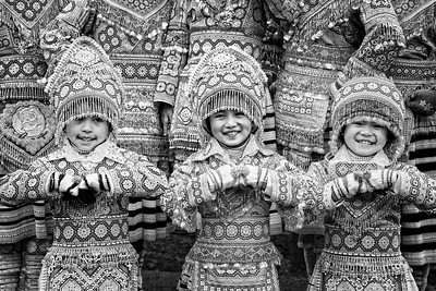 Miao Ethnic Minority Festival Costumes