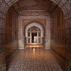 The interior of Jehangir's Tomb, outside Lahore. Jehangir was a Mughal emperor who ruled in the early 1600s. Although Jehangir received a beautiful tomb, the mausoleum that his daughter-in-law was buried in is far more famous: the Taj Mahal.