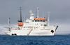 The Ship I was on in Spitsbergen. John Chapman.