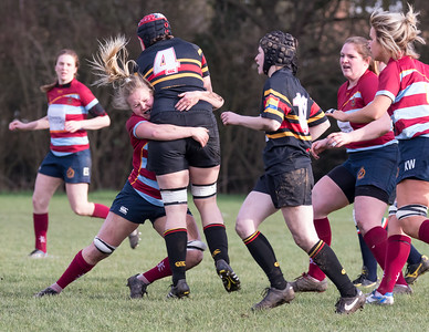 WB Ladies 1St XV v Camp Hill 07-02-16 won 20-19