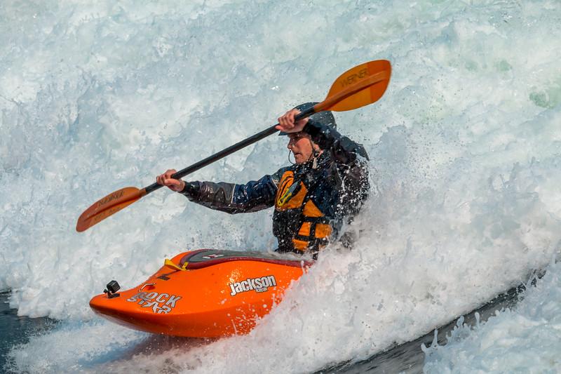 Surfing Skookumchuck
