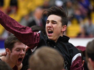 Alamosa and Faith Christian compete in the 2017 Colorado State High School 3A basketball tournament at the University of Denver on March 9, 2017