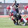 Rock Canyon football hosts Denver East on September 176, 2016 at Echo Park Stadium in Parker, Colorado