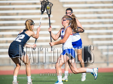 3rd seed Cherry Creek hosts 19th Air Academy in the second round of the 2016 CHSAA girls lacrosse playoffs on May 13, 2016 at the Stutler Bowl in Greenwood Village, Colorado. Cherry Creel won in overtime 14-8.