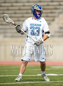 Legend boys lacrosse hosts Lewis-Palmer on April 14, 2016 at Sports Authority Stadium in Parker, Colorado