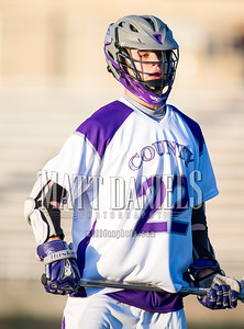Douglas County lacrosse hosts Highlands Ranch on April 6, 2016 at DC Stadium in Castle Rock, Colorado