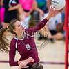 Chatfield volleyball hosts Bear Creek on October 24, 2016.
