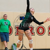 Pine Creek and Niwot compete during the Ponderosa Mustang Classic volleyball tournament on October 28, 2016.