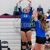 Ponderosa girls volleyball hosts Grandview in a non-conference game on Tuesday, August 30, 20