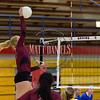 Cherry Creek girls volleyball hosts Ponderosa High School on September 8, 2016