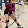 Ponderosa and Durango compete during the Ponderosa Mustang Classic volleyball tournament on October 29, 2016.