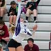 Ponderosa volleyball hosts Douglas County High School on September 20, 2016 at Ponderosa High School in Parker, Colorado
