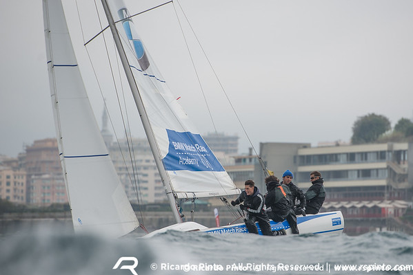 Day 2 of the BMW Match Race Cup