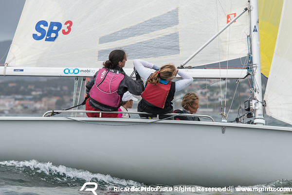 Day 3 of the Portugal SB20 National Championship