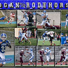 Logan Rodehorst 11 x 14 inch Sports Collage