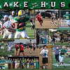 Jake Huss 16 X 20 inch Sports Collage