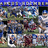 Marcus Holmberg 16 x 20 Football Collage - 2013