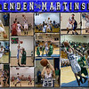 Brenden Martinson 11 x 14 Basketball Collage
