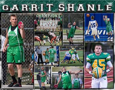 Garrit Shanle 11 x 14 Sports Collage