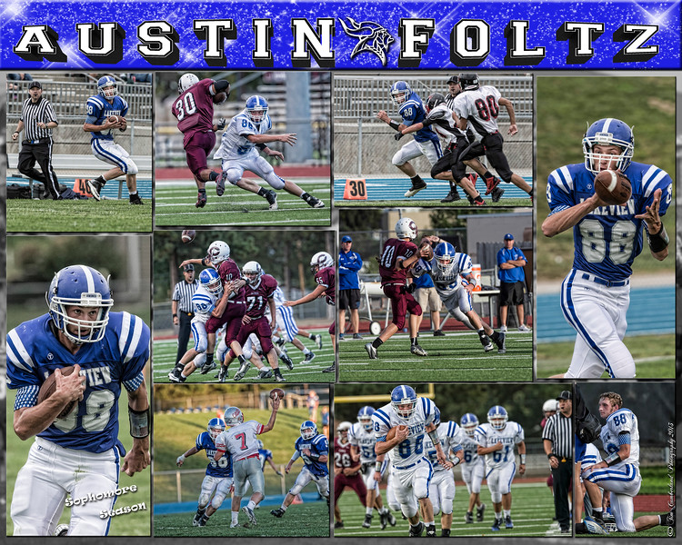 Austin Foltz Sports Collage 16 x 20