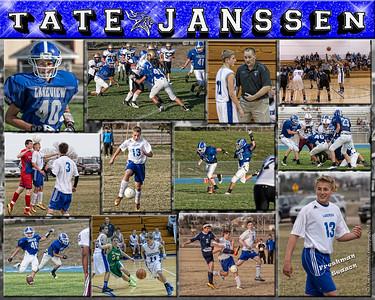 Tate Janssen 16 X 20 inch Sports Collage