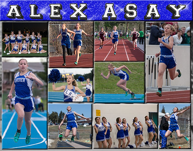 Alex Asay 11 x 14 inch Sports Collage