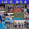 Alex Asay 11 x 14 inch Sports Collage