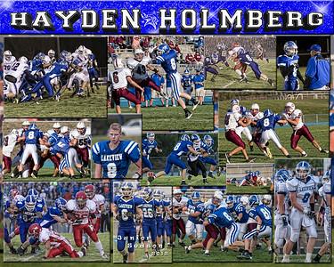 Hayden Holmberg 16 X 20 inch Sports Collage