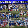 Hayden Holmberg 16 X 20 inch Sports Collage