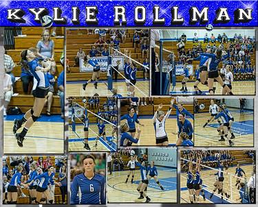 Kylie Rollman 16 X 20 inch Sports Collage