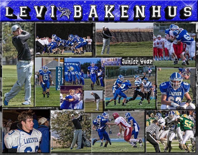 Levi Bakenhus 11 x 14 Collage