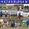 Jonathan Rohwer 16 X 20 inch Soccer Sports Collage