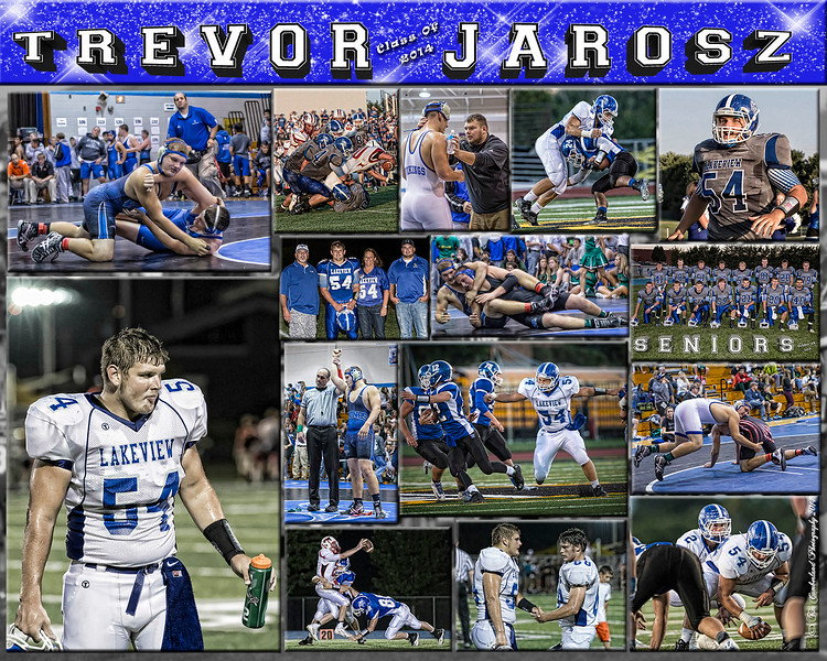 Trevor Jarosz 16 X 20 inch Sports Collage_2014_1500px