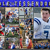 Cole Tessendorf 11 x 14 Sports Collage