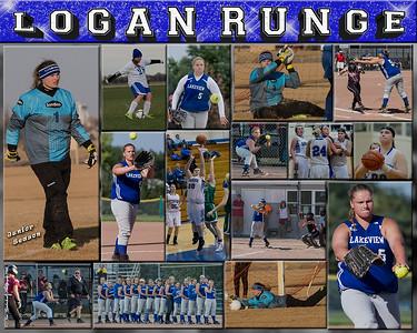 Logan Runge 16 x 20 Sports Collage