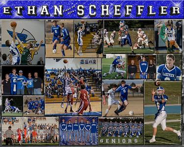 Ethan Scheffler 16 X 20 inch Sports Collage_2014