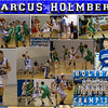 Marcus Holmberg 16 X 20 inch Basketball Collage
