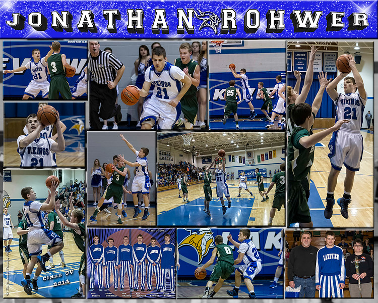 1500px Jonathan Rohwer 16 X 20 inch Basketball Sports Collage_2013 back up