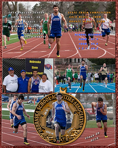 Mark Jarecki 20 x 16 Track Collage