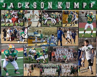 Jackson Kumpf 16 x 20 Sports Collage
