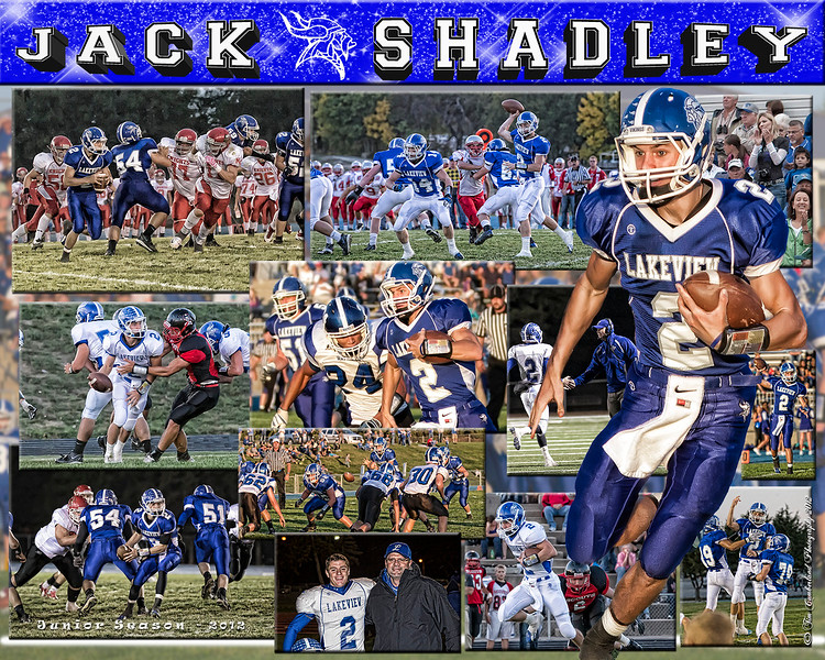 Jack Shadley 16 X 20 inch Sports Collage_1500px
