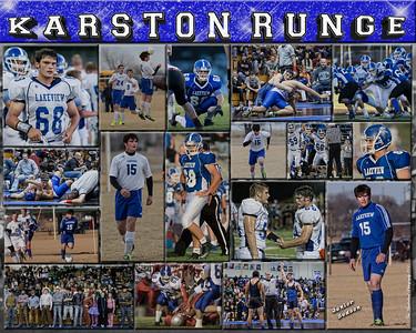 Karston Runge 16 x20 Sports Collage