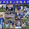 Derek Knapp 11 x 14 inch Sports Collage