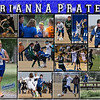 Brianna Prater 11 x 14 Sports Collage Junior Year