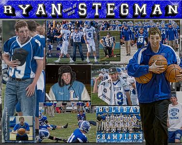 Ryan Stegman 16 X 20 inch Sports Collage_1500px