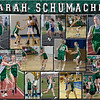 Sarah Schumacher 11 x 14 multi-sport Collage