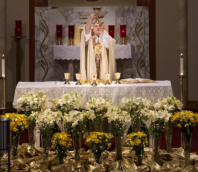Easter Mass 2016, St. Bonaventure Catholic Church